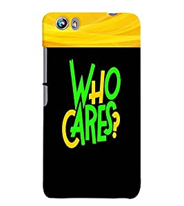 Fuson 3D Printed Quotes Designer back case cover for Micromax Canvas Fire 4 A107 - D4343