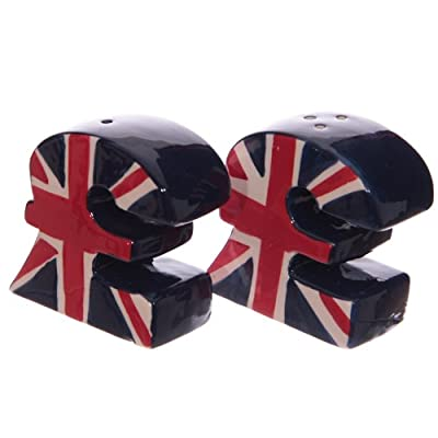 Union Jack £ Pound Sign Salt and Pepper Set by Puckator