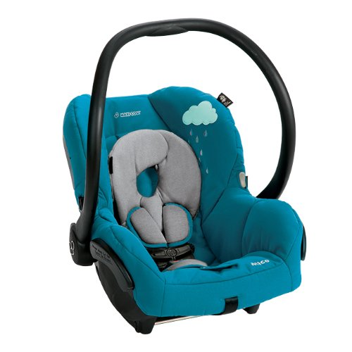 Maxi Cosi Mico Infant Car Seat, Fading Green/Blue Sky Hybrid