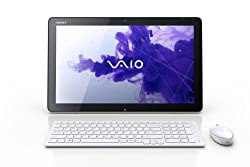 Sony VAIO Tap All-in-One Touchscreen SVJ20215CXW 20-Inch Desktop (White)