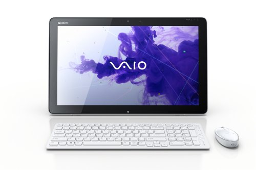 Sony VAIO Tap All-in-One Touchscreen SVJ20215CXW 20-Inch Desktop (Milky)