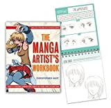img - for The Manga Artist's Workbook: Easy-to-Follow Lessons for Creating Your Own Characters [Spiral-bound] [2009] Spi Wkb Ed. Christopher Hart book / textbook / text book