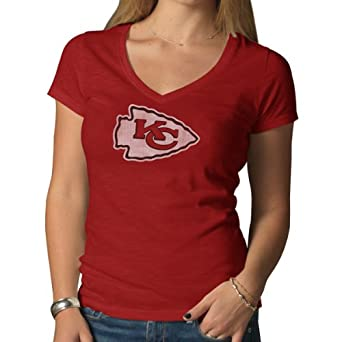 Ladies NFL V-Neck Scrum T-Shirt by