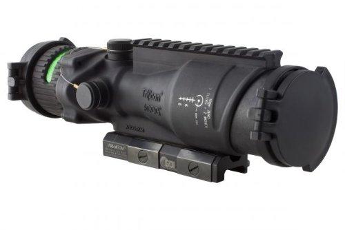 Trijicon Acog 6X48 Machine Gun Optic, Ill Green Horseshoe/Dot .50 Ball Reticle, Gdi Ta648Mgo-M2
