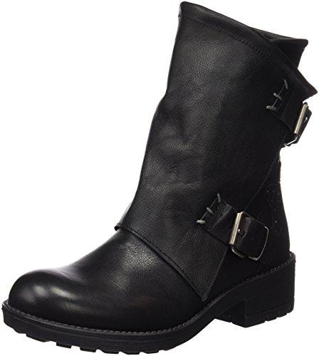 CoolwayBLONDY - Stivali a metà polpaccio con imbottitura leggera Donna , Nero (Nero (Blk)), 37