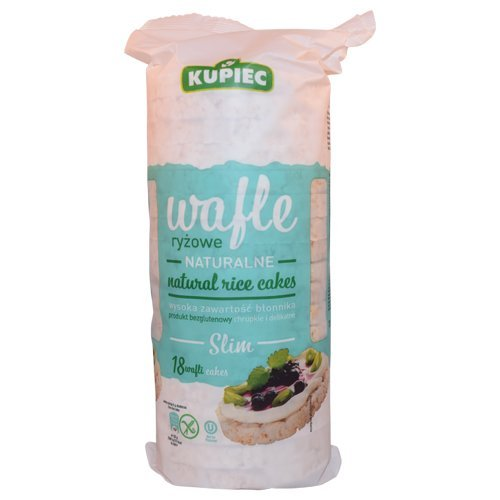 Kupiec Slim Natural Rice Cakes 90g (Slim Rice compare prices)