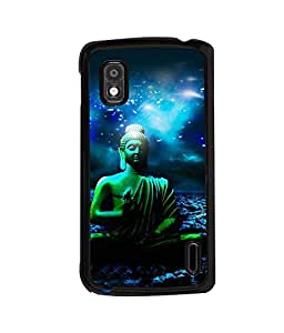 printtech Lord God Buddha Back Case Cover for LG Nexus 4, LG Mako :: LG Nexus 4 E960
