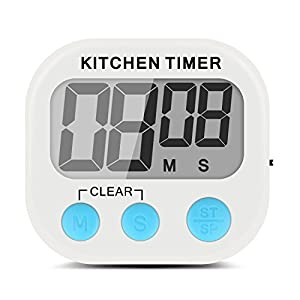 Etekcity Digital Kitchen Timer: Large LCD Display, Battery Included