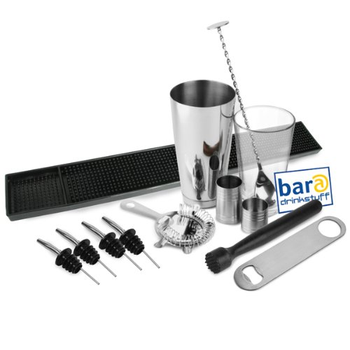 Large Boston Cocktail Shaker Set by bar@drinkstuff