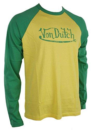 von-dutch-uomo-maglietta-shirt-molti-colori-tgl-xxl-giallo-verde-xxl