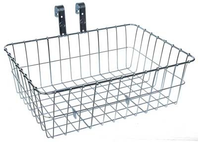 Wald 137 Front Bicycle Basket (15 X 10 X 4.75, Silver) front-744777