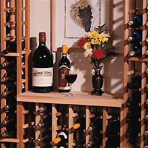 Redwood Modular Wine Rack Kit - Table Top front-541496