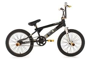 BMX freestyle 20'' Boost noir doré KS Cycling