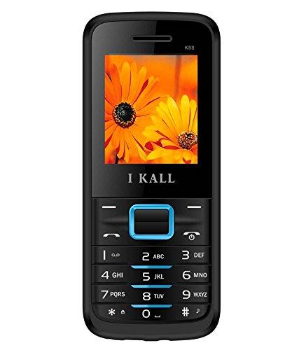 I Kall K88 1.8 inch Dual Sim Mobile (Black& Blue)
