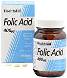 Health Aid, Folic Acid 400µg - 90 Tablets