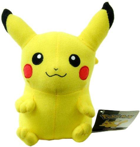 Pokemon 6 Inch Plush - Pikachu - 1
