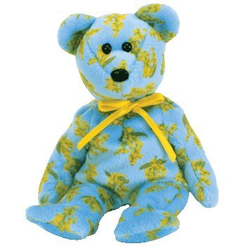 TY Beanie Baby - OCKER the Bear (Asia-Pacific Exclusive)