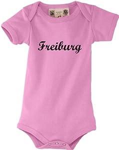 Shirtstown Baby Body Deine Stadt Freiburg City Shirts kult, Größe 0-18 Monate