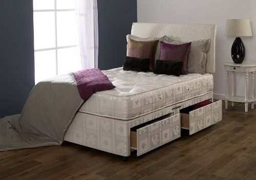 Luxury 2 Drawer Double Bed 4.6ft With Pocket Sprung Mattress