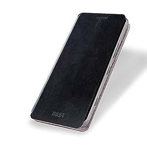 MOFI RUI Series Premium Leather Flip Case Cover with Stand Design for Microsoft Lumia 950 [Black Colour]