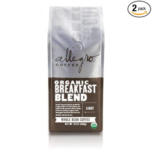 Allegro Ground Coffee 2, Organic Breakfast Blend