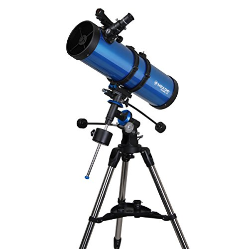 Meade 216006 Meade Polaris 130-Millimeter German Equatorial Reflector (Blue)