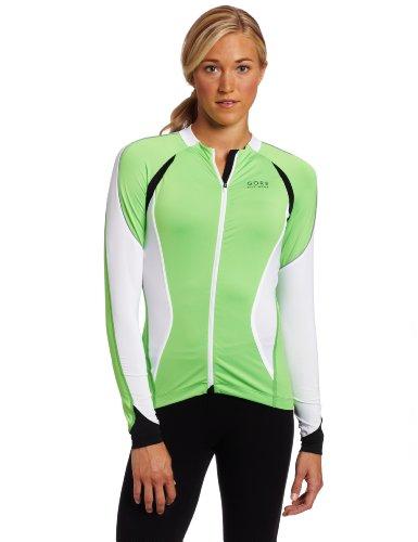 Buy Low Price Gore Bike Wear Women's Oxygen FZ Lady Long Sleeve Jersey (SLOXYL-P)