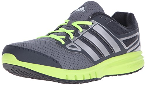 Adidas Performance Men's Galactic Elite M Running Shoe,Dark Grey/Solar Yellow/Iron Metallic/Grey,9 M US