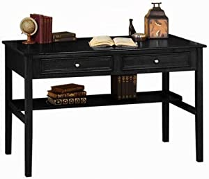 oxford 48 w standard writing desk two drawer