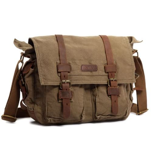 Discover 10 Canvas Messenger Bags For Men