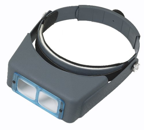 Optivisor with Lens Plate 2 X 10
