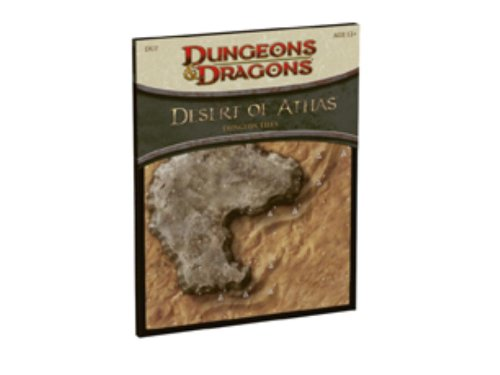 Desert of Athas - Dungeon Tiles: A 4th Edition D&D Accessory