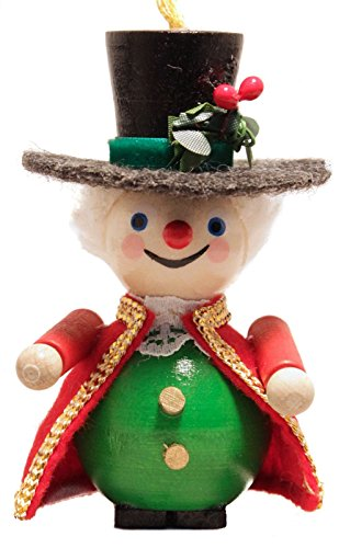 Steinbach Dickens Christmas Carol Mr Fezziwig German Wooden Christmas Ornament