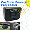 Solar Powered Car Auto Cool Air Vent Cooler Cooling Fan