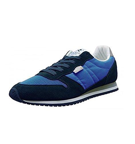 Hackett London Cl Street Hkt Sneaker Scarpe da Ginnastica per Uomo, Blu, 43