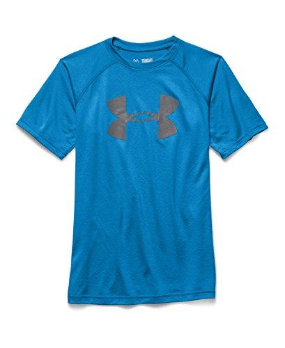 Under Armour Big Boys' Ua Big Logo T-Shirt Youth Large Pool