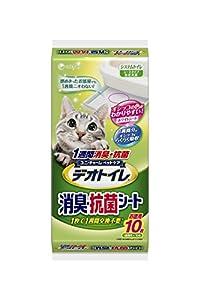デオトイレ 1週間消臭・抗菌デオトイレ取替え専用消臭シート 10枚
