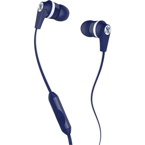 Skullcandy S2IKFY-277 Ink'd 2.0 Earbud Headphones with Mic (New York Yankees) at Amazon.com