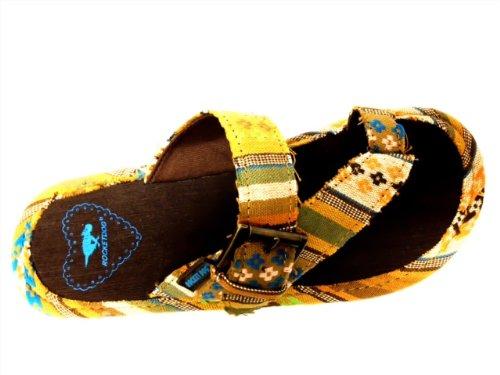 Rocket Dog Women's Jadine Thong Sandal,Bark poncho,7 M US