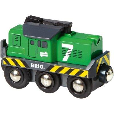Eisenbahn BRIO Batterie-Lok Frachtlok