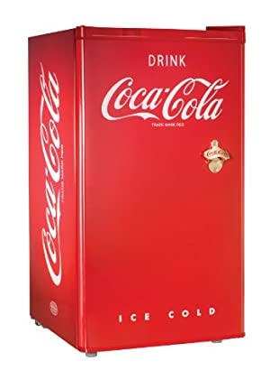 Nostalgia Electrics RRF300SDBCOKE Coca-Cola Series 3.0-Cubic Foot Compact