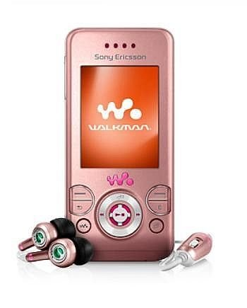 W580i Walkman (UK, Pink) (UK, Pink)