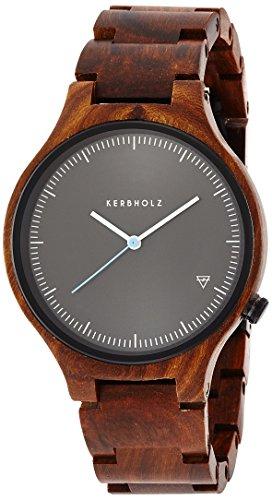 [カーボルツ]KERBHOLZ 腕時計 Lamprecht(ランプレヒト) Rose Wood(ローズウッド) 9809005  【正規輸入品】