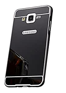 Samsung Galaxy Note 3 Neo G7505 Case,Spygen™ Luxury Metal Bumper + Acrylic Mirror Back Cover Case For Samsung Galaxy Note 3 Neo G7505 (Black)