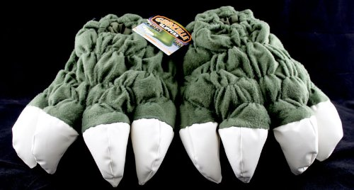 Toy Vault Godzilla Feet Plush Slippers