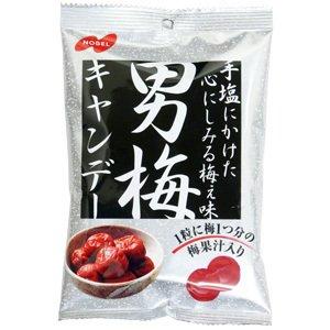 ノーベル 男梅キャンデー 80g 12袋