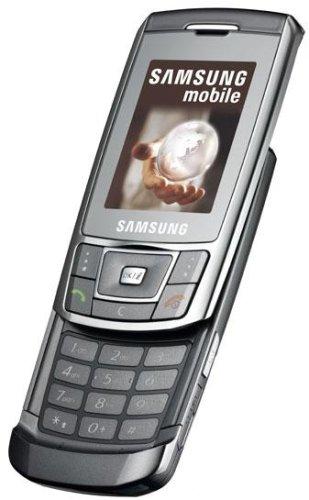 SIM Free Unlocked Samsung D900i Metallic Silver Mobile Phone