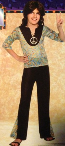 HIPPIE BOY Halloween Costume Child's Size 8 Medium