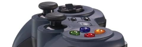 【モンスターハンターフロンティア正式推奨】 LOGICOOL ゲームパッド F310r