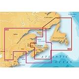 Magellan eXplorist MapSend BlueNav XL3 Nova Scotia/Newfoundland Saltwater Map microSD Card